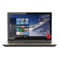 "Toshiba Satellite S55T-C5222 15.6"" Laptop Computer Refurbished - Brushed Metal"