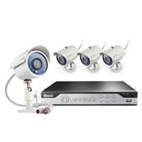 Zmodo 8 Channel DVR Security System with 700 TVL IR Cameras x4 and 500GB Hard Drive