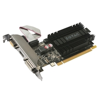 Zotac GeForce GT 710 1GB DDR3 Low-Profile Video Card