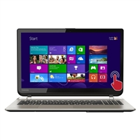 "Toshiba Satellite S55T-B5273NR 15.6"" Laptop Computer Refurbished - Brushed Aluminum in Satin Gold"