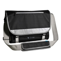 "Sumdex Decode Messenger Bag Fits up to 15.6"" - Black/Gray"
