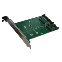 Vantec Dual M.2 to Dual SATA III Port Converter Kit