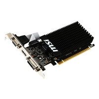 MSI GeForce GT 710 Low Profile 1GB DDR3 PCIe Video Card