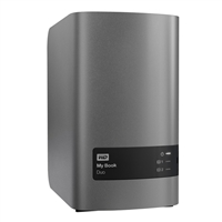 "WD My Book Duo 16TB (2 x 8TB) SuperSpeed USB 3.0 3.5"" RAID External Hard Drive - Black"