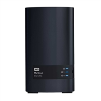 WD My Cloud EX2 Ultra 4TB 2-Bay Network Attached Storage (NAS) - Charcoal Gray