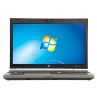 "HP EliteBook 8570 Windows 7 Professional 15"" Laptop Computer Refurbished - Gray"
