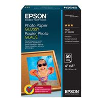 "Epson 4""x6"" Value Glossy Photo Paper 50-Sheets"