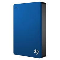 Seagate Backup Plus 4TB SuperSpeed USB 3.0 Portable External Hard Drive - Blue