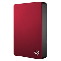 Seagate Backup Plus 4TB SuperSpeed USB 3.0 Portable External Hard Drive - Red