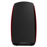 NZXT Manta Mini-ITX Steel Computer Case - Black/Red