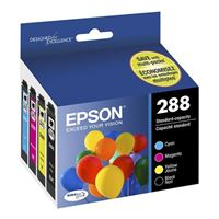 Epson 288 Black and Color Ink Cartridge Combo Pack