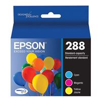 Epson 288 Color Ink Cartridges Combo Pack