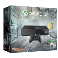 Microsoft 1TB Xbox One Console with Tom Clancy Game Download