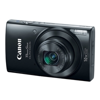 Canon ELPH 190 IS 20 Megapixel Digital Camera Black