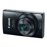 Canon ELPH 190 IS 20 Megapixel Digital Camera - Black
