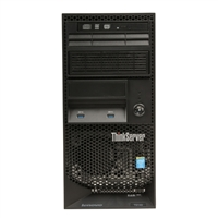 Lenovo ThinkServer TS140 Server - Black