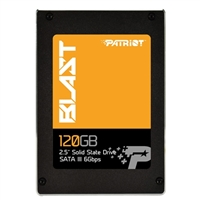 "Patriot BLAST 120GB SATA III 6GB/s 2.5"" Internal Solid State Drive (SSD) PBT120GS25SSDR"