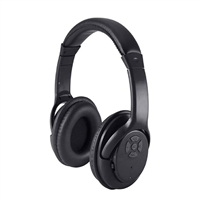 Craig Bluetooth Wireless Headphones - Black