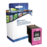 Dataproducts Remanufactured HP 60XL Tri-Color ink Cartridge