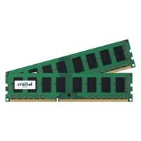 Crucial 16GB 2 x 8GB DDR3L-1600 CAS 11 Low Voltage 1.35 Desktop Memory Kit