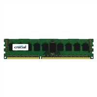 Crucial 8GB DDR3-1600 PC3-12800 CAS 11 Low Voltage 1.35/1.5V Server Memory Module