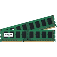 Crucial 8GB 2 x 4GB DDR3-1600 PC3-12800 CL11 Desktop Memory Kit