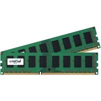 Crucial 8GB 2 x 4GB DDR3-1600 PC3-12800 CL11 Desktop Memory Kit