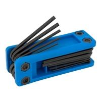 Performance Tools Folding MET Hex Key Set - 17 Piece