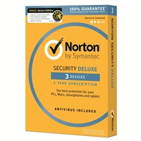 Symantec Norton Security Deluxe/Utilities Bundle - 3 Devices