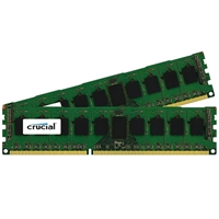 Crucial 8GB 2 x 4GB DDR3-1600 PC3-12800 CL11 Dual Channel Server Memory Kit