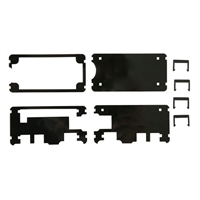 Built to Spec Acrylic Case Kit for Raspberry Pi Zero - Black