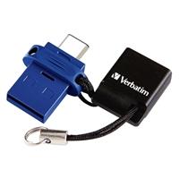 Verbatim 16GB Store n Go Dual USB-C Flash Drive
