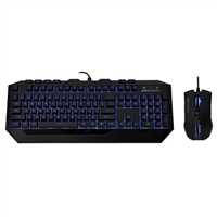 Cooler Master Devastator II LED Gaming Keyboard & Mouse Combo - Blue LED Edition
