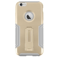 MacAlly Gold Hardshell Case w/ Stand for iPhone 6 Plus