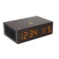 Accessory Power NFC Enabled Bluetooth speaker clock w/ Alarm