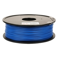 Inland Premium Series 1.75mm Blue PLA 3D Printer Filament - 1kg Spool (2.2 lbs)