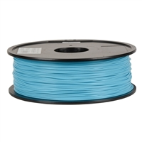Inland Premium Series 1.75mm Light Blue PLA 3D Printer Filament - 1kg Spool (2.2 lbs)