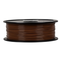 Inland Premium Series 1.75mm Brown PLA 3D Printer Filament - 1kg Spool (2.2 lbs)