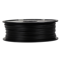 Inland 3mm Black PLA 3D Printer Filament - 1kg Spool (2.2 lbs)