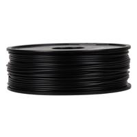 Inland 3mm Black ABS 3D Printer Filament - 1kg Spool (2.2 lbs)