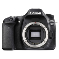 Canon EOS 80D Camera Body Black