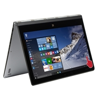 """Lenovo Yoga 3 Pro 13.3"""" 2-in-1 Laptop Computer Factory Refurbished - Silver"""