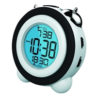 Coby Electronics Uprise Alarm Clock Black
