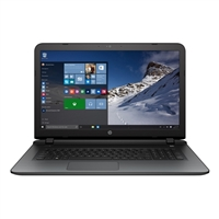 "HP Pavilion 17-g103dx 17.3"" Laptop Computer Refurbished - Horizontal Brushing in Natural Silver"