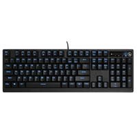IOGear Kaliber Gaming MECHLITE Illuminated Mechanical Gaming Keyboard - Cherry MX Blue Switch