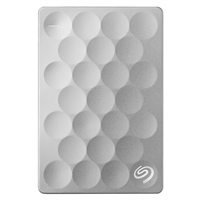 Seagate Backup Plus Slim Ultra 1TB SuperSpeed USB 3.0 Portable Hard Disk Drive Platinum
