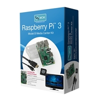 MCM Electronics Raspberry Pi 3 Model B Media Center Kit