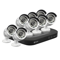 Swann Communications 8 Channel Digital Video Recorder DVR with 8 x 3MP Cameras