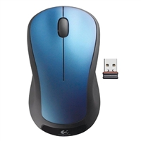 Logitech M310 (Refurbished) Wireless Laser Mouse - Peacock Blue