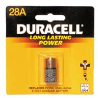 Duracell Photo Battery 544A (PX28A)